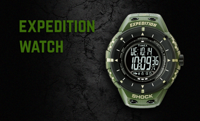 The Timex Expedition Watch Collection Celebrates Unprecedented Ruggedness