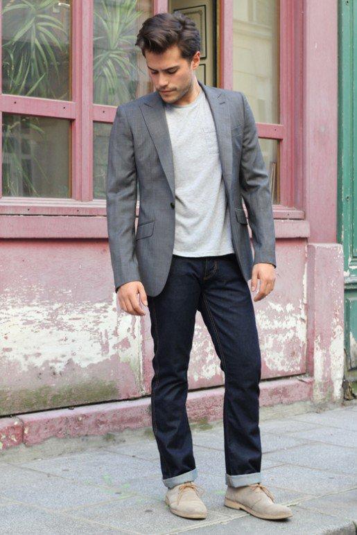 casual men's wear