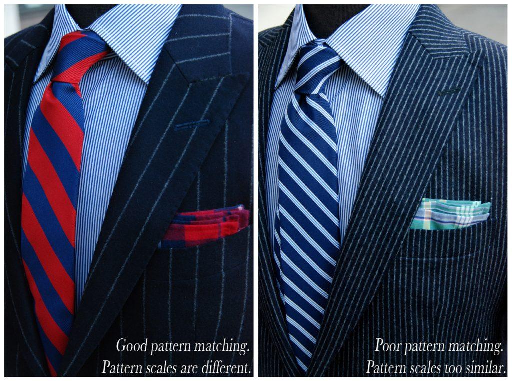 Same pattern suit