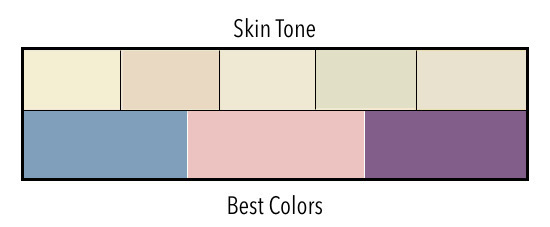 Skin Tone Light with Cool Undertones